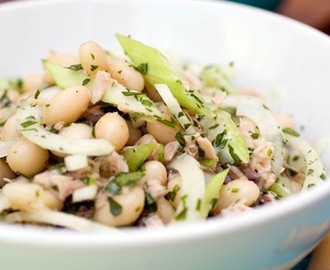 Italian Marrow Beans with Tuna