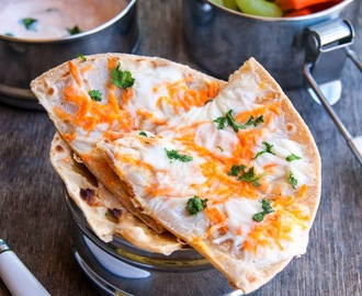 Roti with amul cheese slice and carrots - easy lunch box recipe