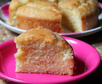 French Lemon Yogurt Cake Recipe