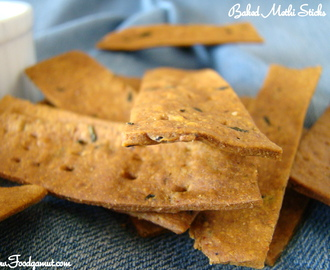 Baked Methi (Fenugreek) Sticks