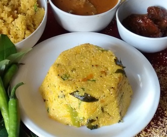Vegetable Corn Daliya Upma