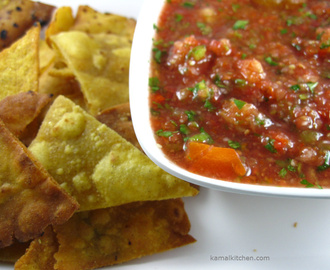 Homemade Salsa Recipe – Mexican Restaurant Style