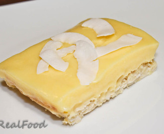 Coconut Lemon Bars ~ The Paleo Way