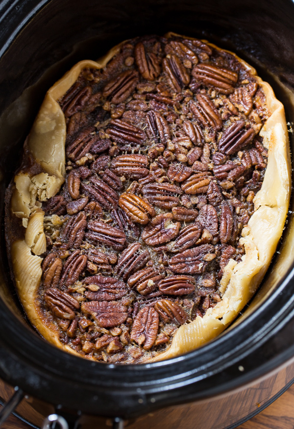 Crock Pot Pecan Pie
