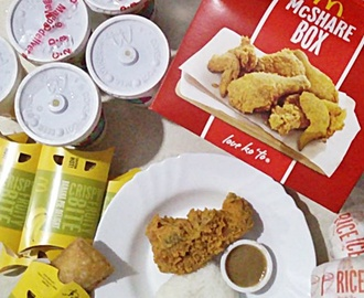 Chicken McDo and More in the New McShare Box