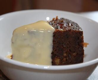 Sago Christmas Pudding