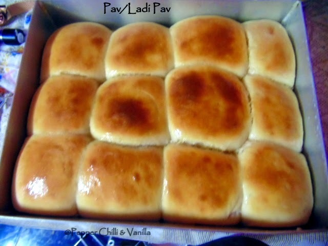 Laadi Pav/Eggless Pav Recipe .