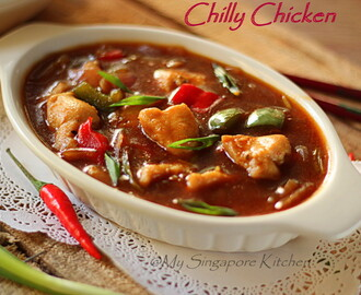 Chilly Chicken (Restaurant Style)