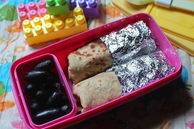 Mixed Vegetable Wrap Recipe - Veggie Wrap Recipe - Kids Lunch Box Ideas 1