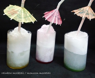 RAINBOW MOCKTAIL / MONSOON MOCKTAIL