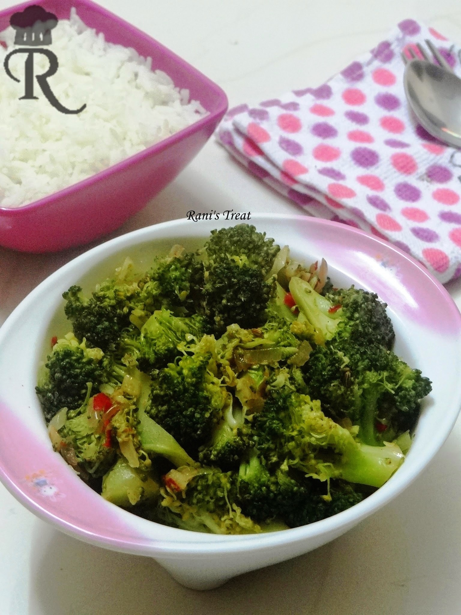 Quick Broccoli Stir Fry | Indian Style Broccoli Stir Fry