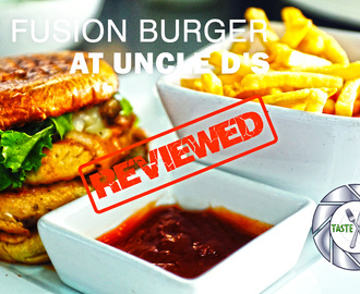 Reviewed: The Fusion Burger at Uncle D's Restaurant