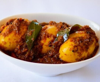Andhra Style Spicy Egg Curry