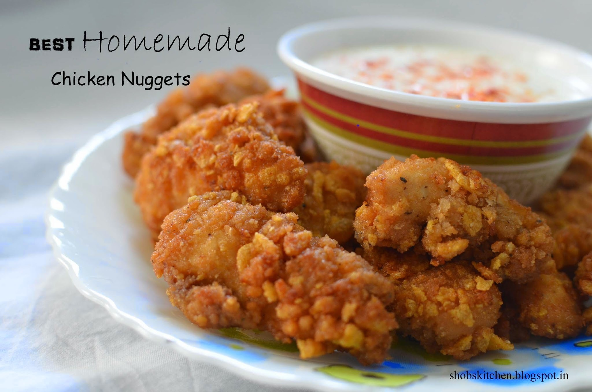Best Homemade Chicken Nuggets
