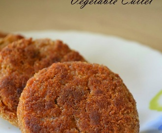 Baked Vegetable Cutlet