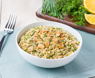 Almond and Fresh Herb Quinoa Salad
