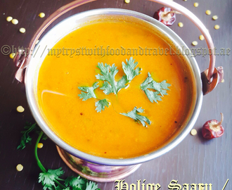 Mysore Rasam Hebbar S Kitchen