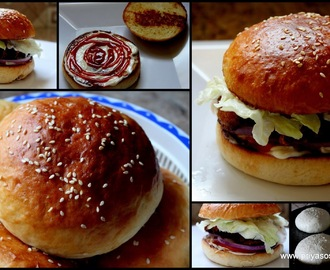 Home made Milk Bun without egg