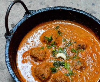 Kofta Curry (With leftover Cutlets)