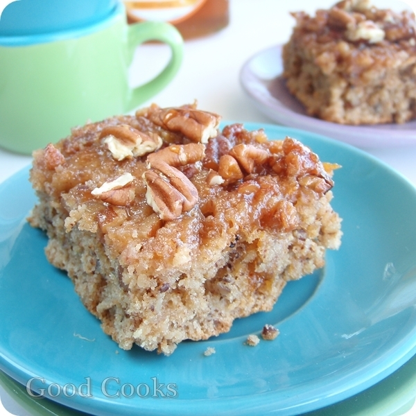 Honey Buttermilk Oatmeal Coffee Cake: For The Daring Bakers February Challenge