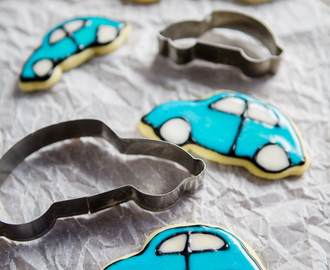 VW Käfer Kekse im Handumdrehen // Quick and easy VW Beetle frosted cookies