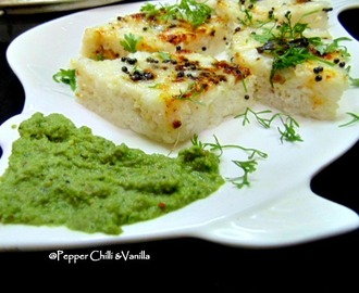 Khata Dhokla Recipe/Khatta Dhokla with Idli Batter