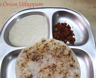 Oats Onion Uttappam | Oats Uthappam ~ 101 Dosa Varieties!
