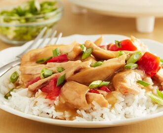Honey Teriyaki Slow-Cooker Chicken