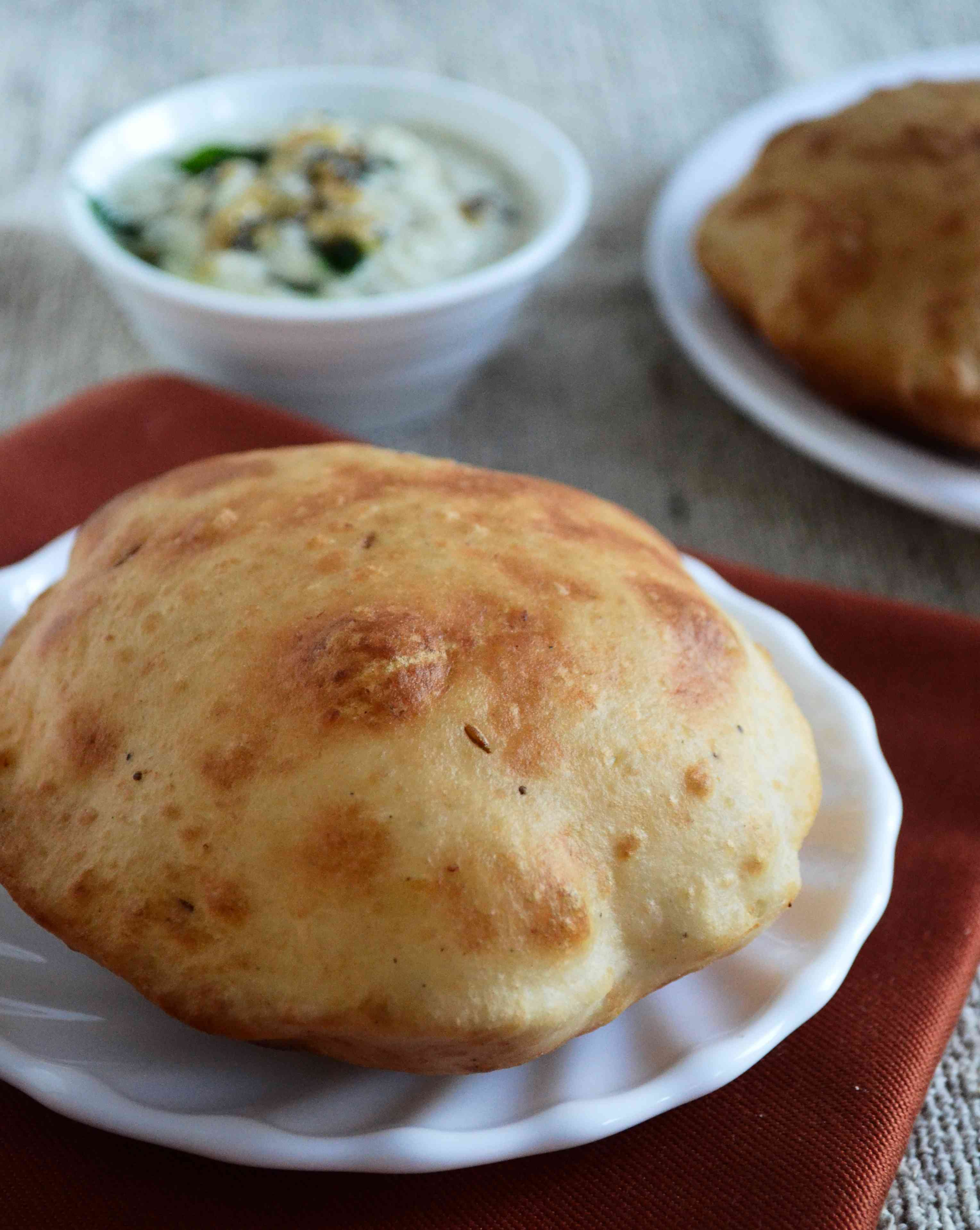Mangalore Bun / Banana Puri Recipe