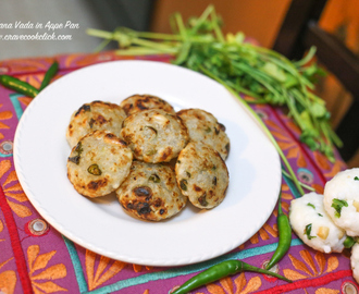 Sabudana Vada in Appe Pan/Healthy Sabudana Vada Recipe