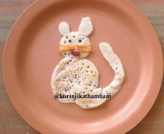 Cat Shape Dosai for Kids