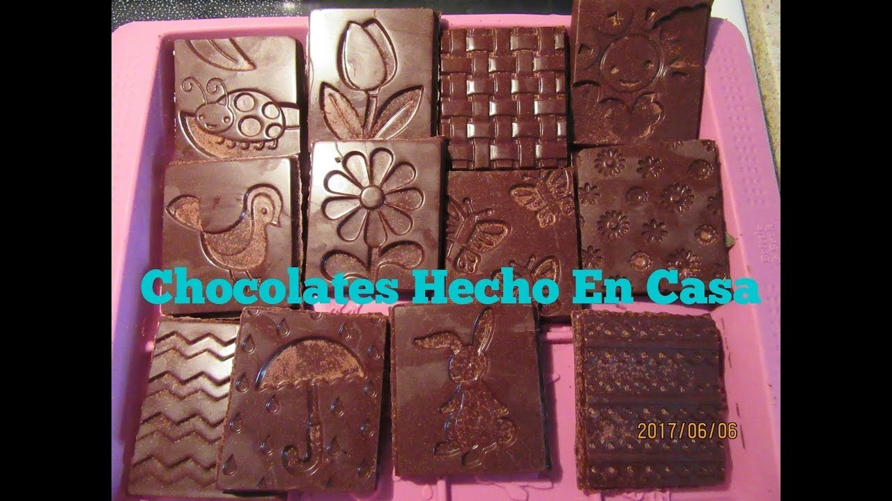 Barras De Chocolate Con Aceite de Coco - YouTube
