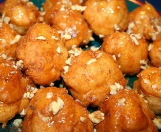 Loukoumades (Greek Honey Dumplings)