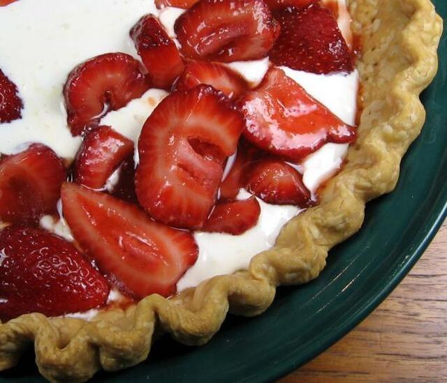 Quick 'n Easy Strawberry Orange Tart