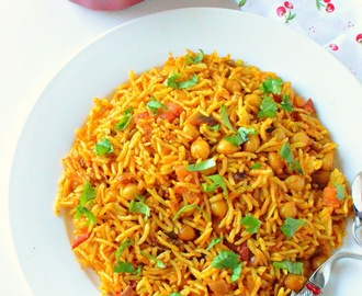 Channa Masala Pulao Recipe | Channa Pulao ~Lunch Recipes