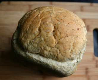 Rapid Italian Onion and Herb Bread- Bread Machine Recipe