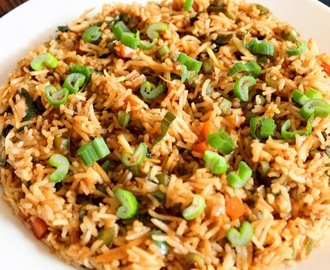 Recipe of Vegetable Fried Rice | How to Make Vegetable Chinese Fried Rice