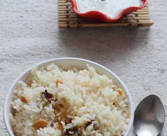 Nei Soru/ Ghee Rice Recipe