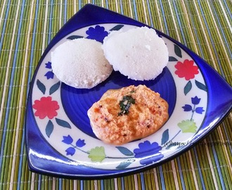 Kerala Style Red Coconut Chutney Recipe