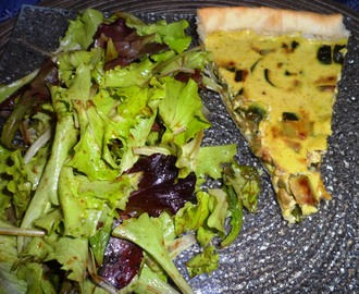 Tarte Courgettes – Lait De Coco – Curry