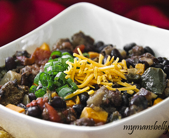Easy Healthy Dinner: Crock Pot Bison Chili Recipe