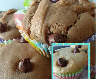 Eggless Muffins (Vanilla and Chocolate)
