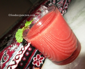 Watermelon Mint Cooler, Drink for Summer
