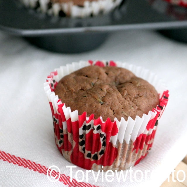 Zucchini chocolate muffins and Navitas naturals