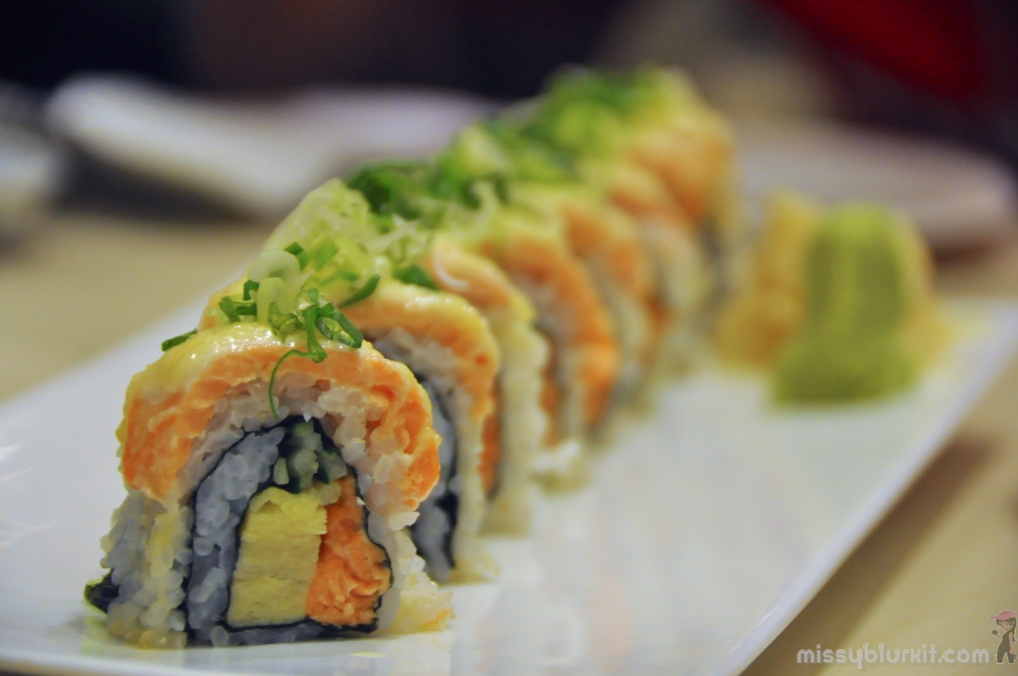 More Than Make Your Own Sushi @ Okonomi