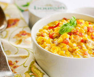 Boursin Creamed Corn + 13 Side Dishes for the Holiday Table