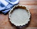How to Make a Coconut Oil Pie Crust