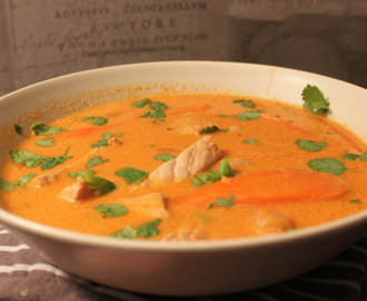 Red curry thaisuppe