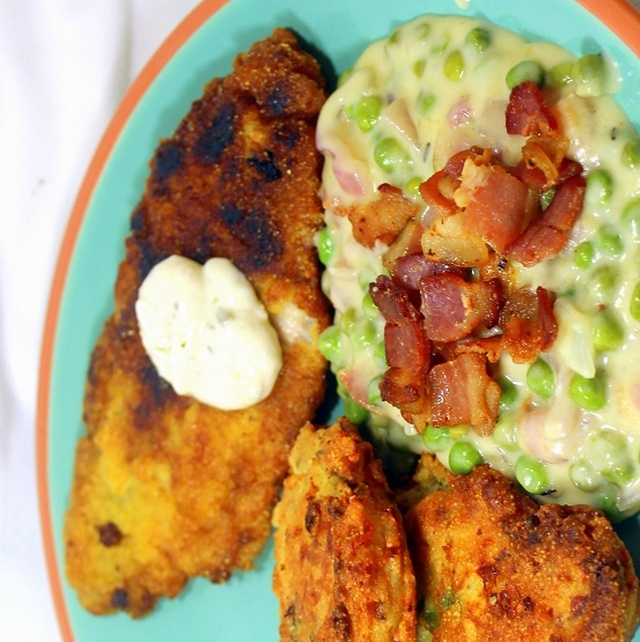 Cornbread Fried Catfish