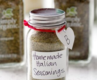 Edible Gift Idea: Homemade Italian Seasonings